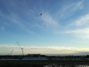 Testing of Manned Helicopter and Drone Collision Avoidance (NEDO);