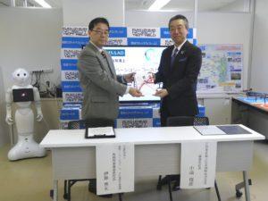 三井住友海上火災保険株式会社からの寄附金贈呈式を行いました。;