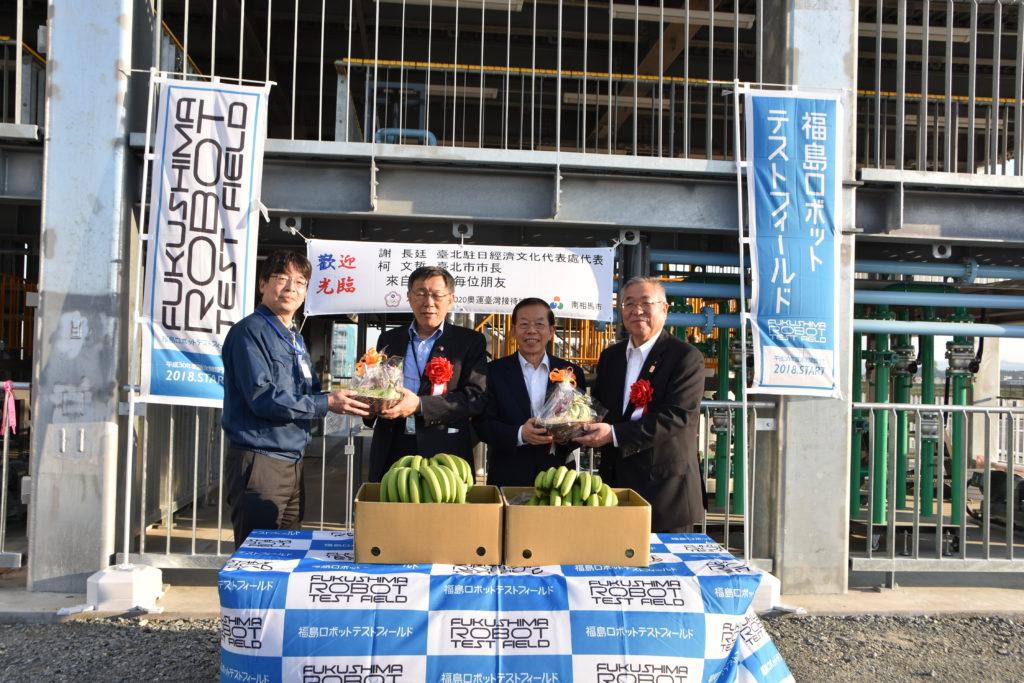 台北市長ほか、関係者の皆様の来訪の様子1
