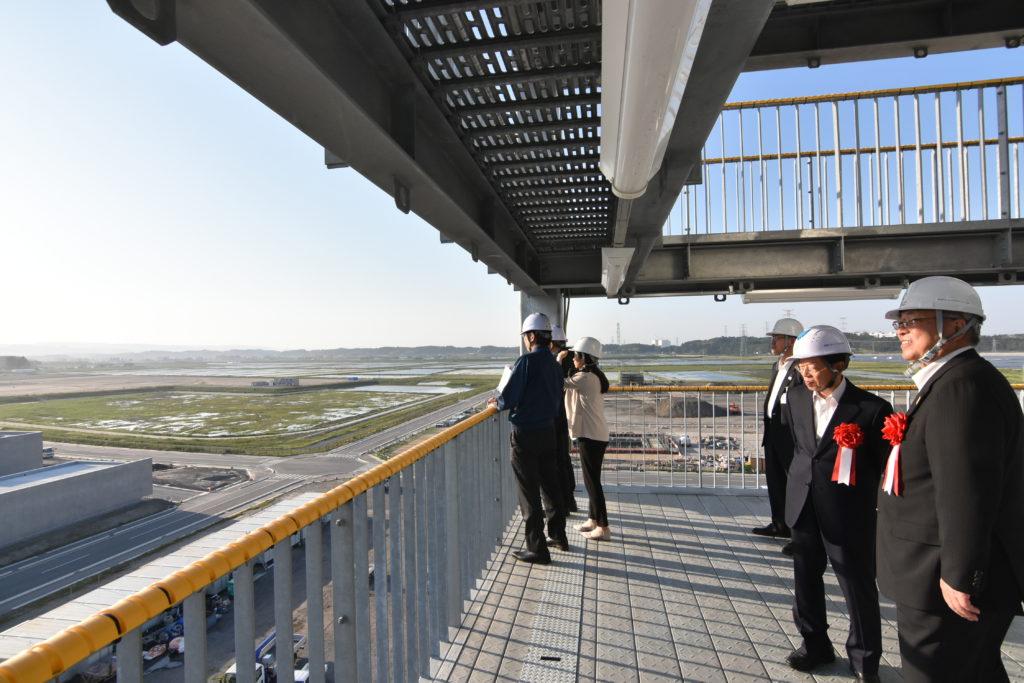 台北市長ほか、関係者の皆様の来訪の様子2