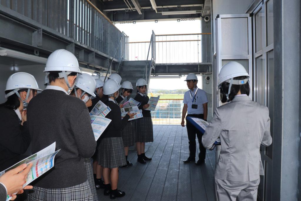 相馬高校が地域理解学習ツアーで来訪しました。;