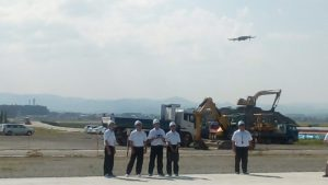 Proficiency Training for Drone Operation (Fukushima Technical High School);