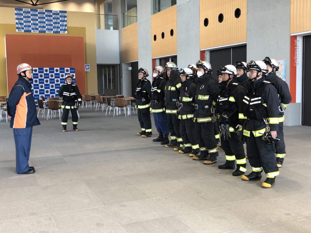 火災避難訓練を行いました!-2