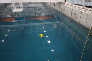 水中ロボット遠隔操作訓練(東京電力ホールディングス株式会社・株式会社アトックス);