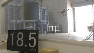 Drone Wind Resistance Test (Toko Tekko Co., Ltd.);
