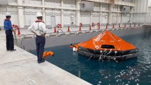 Inflatable Life Raft Approval Testing (Fujikura Composites Inc.);