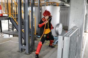 Cosplay Photo Shoot in RoboTes (Minamisoma City);