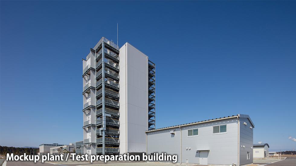 mockup plant / preparation building