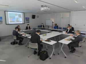 【復興庁横山副大臣、南相馬市門馬市長が入居企業様と意見交換会を行いました】;